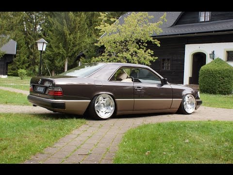 tuning mercedes w124 coupe youtube. Black Bedroom Furniture Sets. Home Design Ideas