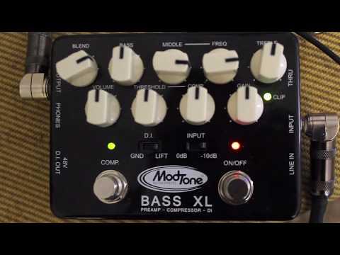 Modtone Bass XL Preamp Compressor & DI