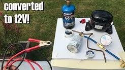 Make Your Own Danfoss Compressor Fridge/Freezer For Cheap!