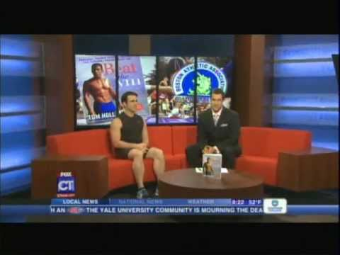 """Tom Holland on FOX CT discussing his book """"Beat the Gym"""""""