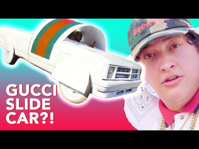 6f187488faa927 Meet the mastermind behind that Gucci flip-flop car