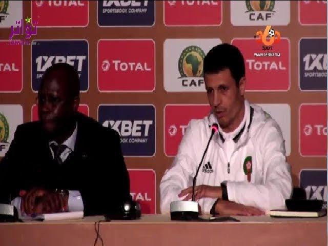 مدرب المنتخب المغربي للمحليين، جمال السلامي : لا مجال للخطأ أمام موريتانيا