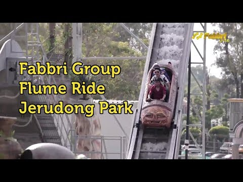 Fabbri Group Flume Ride Plunge Lagoon @ Jerudong Park, Brunei