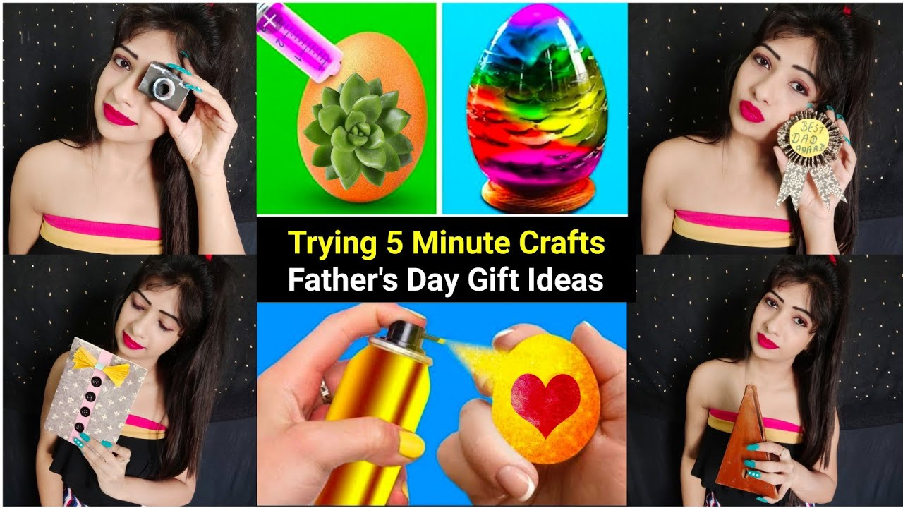 Trying 5 Minute Crafts Father S Day Gift Ideas During Quarantine Presentation Matters Youtube