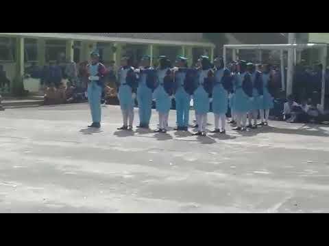 Paskibraka SMP 10 Tasikmalaya juara