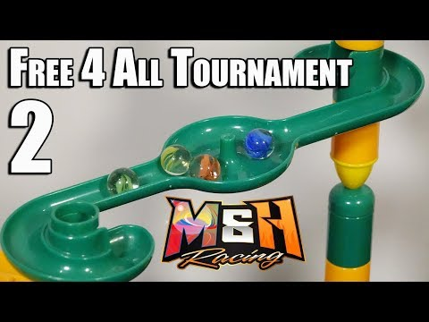 Epic Marble Race: Free 4 All Fridays Tournament: Race 2 (Cats-Eye Marbles)