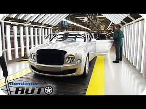 Fertigung vom Bentley Mulsanne - Abenteuer Auto
