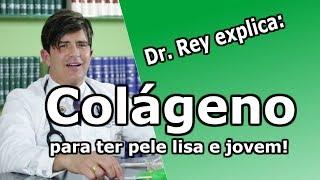 Dr. Rey - Colágeno - uma poderosa arma para reduzir rugas e se manter jovem!!