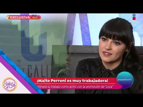 Gracias a Loca, Maite Perroni cantará en la marcha de orgullo gay | Sale el Sol