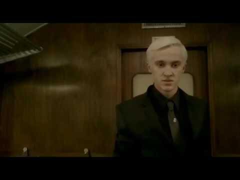Draco Malfoy  and Harry Potter train scene