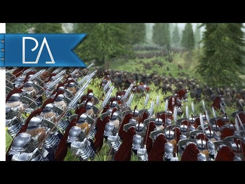 Siege of the Woodland Realm: Stand of the Dwarves - Third Age Total War Mod Gameplay