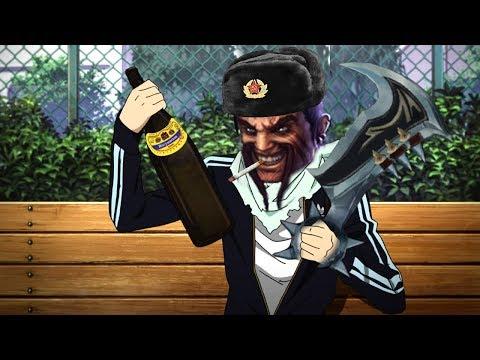 SLAV Draven.Vodka Russian HARDBASS