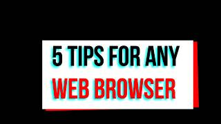 Private Browsing /Browse The Web Anonymously/Secure Surfing Incognito Tab Chrome / Internet Explorer