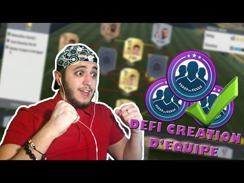 FUT 17 | DEFI CREATION D'EQUIPE #20 | HYBRIDE LIGUES ONZE DE DEPART (+ Pack Opening )