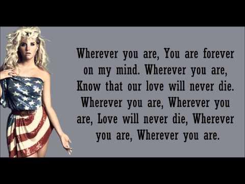Kesha- Wherever You Are Lyrics