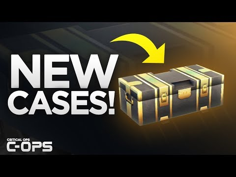 NEW UPDATE! OPENING 20 NEW PREMIUM CASES in Critical Ops! C-OPS