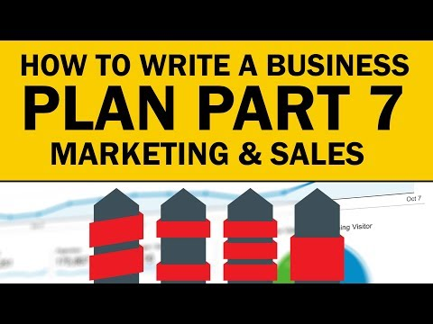 How To Write A Marketing & Sales Plan For Your Business