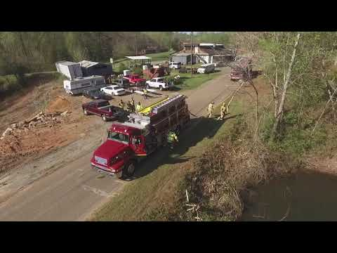 East Bend Fire Department State ISO Hose Lay 2018