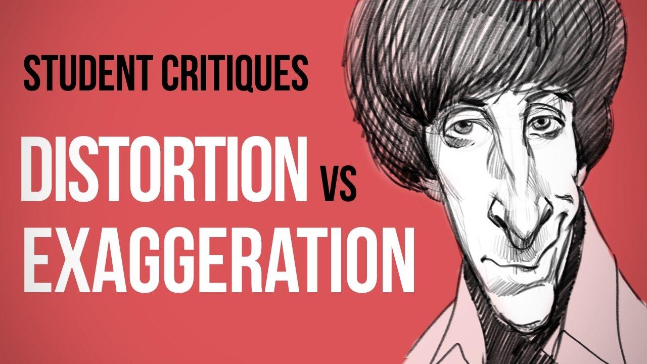 Distortion vs Exaggeration - Rough Sketch Critique