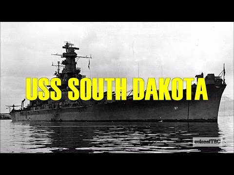 "USS South Dakota (BB-57) - ""Battleship X"""