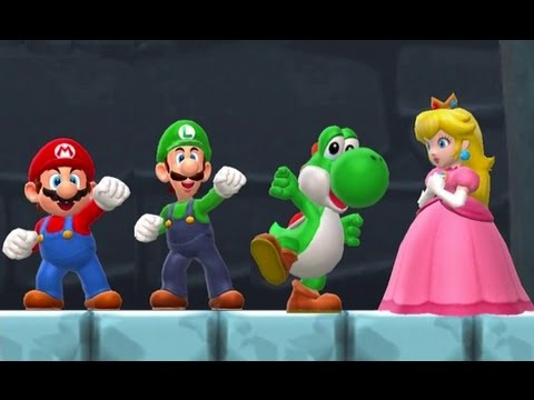 Super Mario Run All Characters Vs Bowser Saving Peach