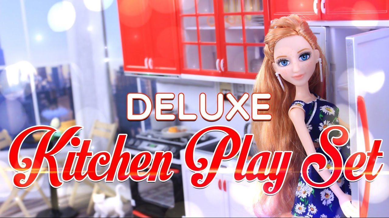 Unbox Daily Deluxe Kitchen Play Set Sweet Home Living Modern