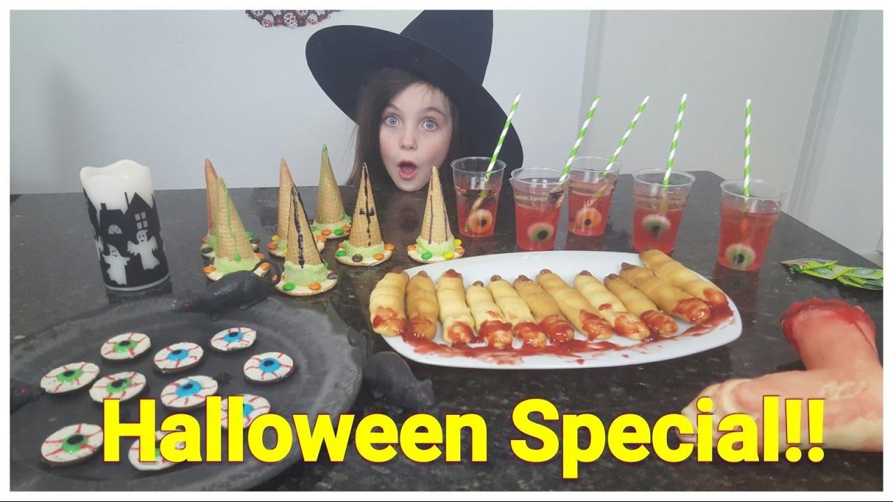 Halloween Filmpjes Nederlands.Diy Bibi Halloween Special 4 Griezel Snacks Snoep Nederlands