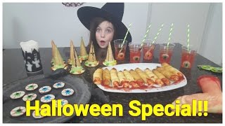 DIY - Bibi Halloween Special! 4 griezel snacks / snoep (Nederlands)