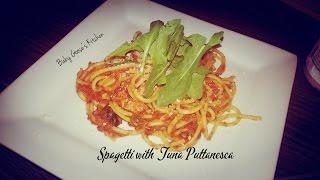 Spaghetti With Tuna Puttanesca
