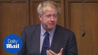 Boris Johnson asks PM to 'seek legally binding change to backstop'
