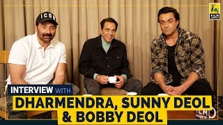 Dharmendra, Sunny Deol & Bobby Deol Interview | Yamla Pagla Deewana Phir Se | FC Instant
