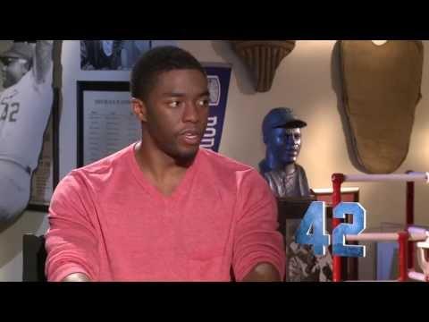 Chadwick Boseman Interview -- 42