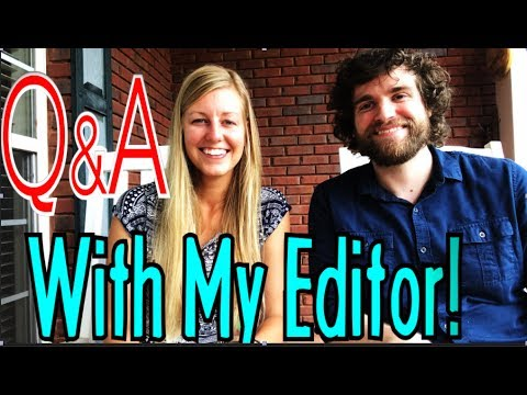 Q&A With Me and My Editor!