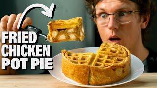 Chicken & Waffles Pot Pie Recipe (from Will it Pot Pie?)