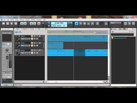 Compiling, recording and editing in Music Creator 6