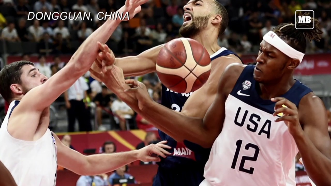 France eliminate USA from FIBA World Cup in major upset