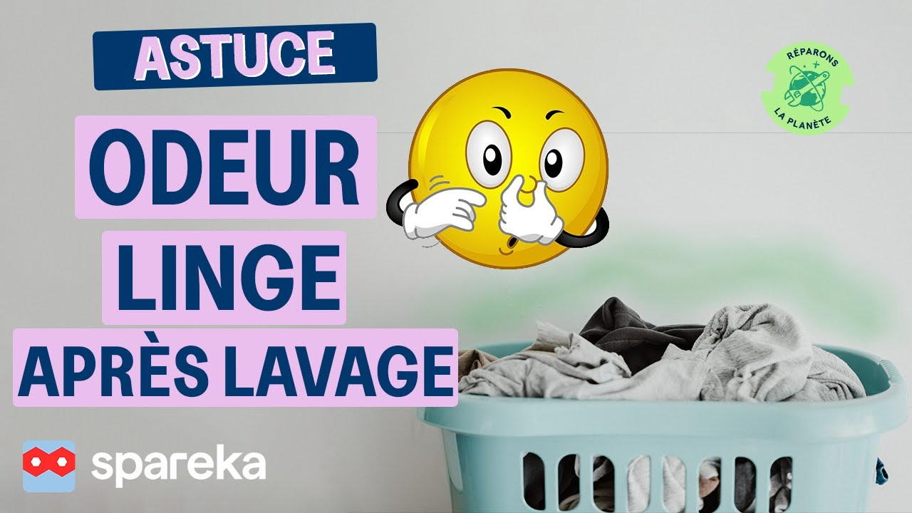 astuce pourquoi mon linge sent il mauvais apr s le lavage youtube. Black Bedroom Furniture Sets. Home Design Ideas