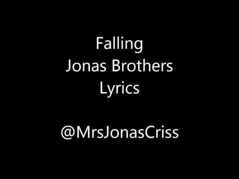 Falling- Jonas Brothers Lyrics *NEW SONG* Album 'V' 2013