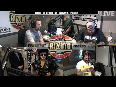 Clownvis Presley talks celebs and more on the Rizz Show