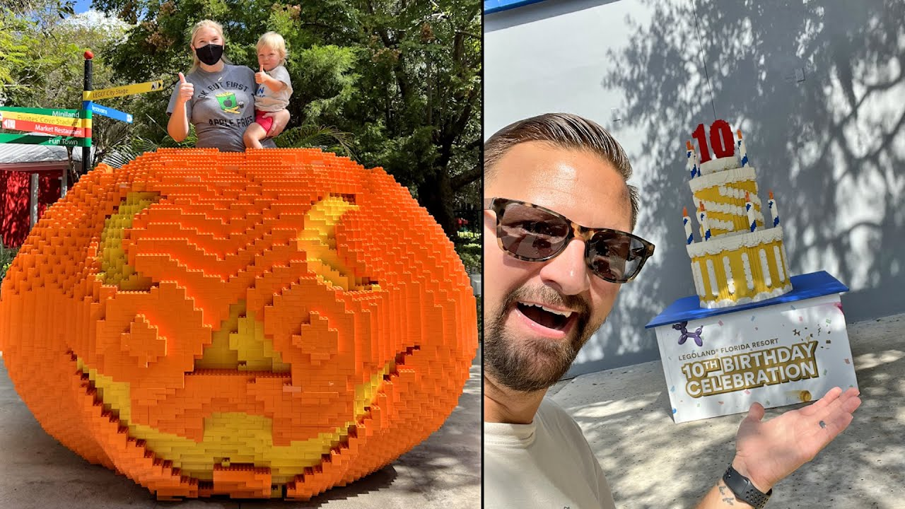 Download Celebrating LEGOLand Florida's 10th Birthday With A Day Of Firsts! | Tall Enough To Ride New Rides!