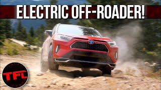 The New Electric Toyota RAV4 Prime Is Surprisingly Good Off-Road! Here Is How We Know!