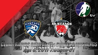 Cedar Rapids Rampage vs Chicago Mustangs