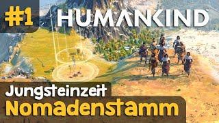 Let's Play Humankind #1: Unṡere Geschichte beginnt! Oder: Es heißt DAS Mammut! (Gameplay / Deutsch)