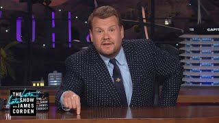 James Corden Is Against the Super League Proposal