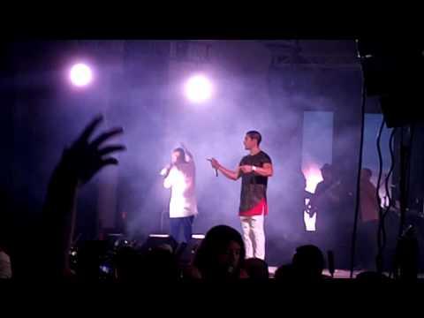 Materialista - Chino y Nacho en concierto Guayaquil Radio Universo tour 2016