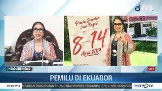 Jokowi - Prabowo Sudah Selesai 'Dicoblos' di Ekuador, Seminggu Lebih Cepat Dari Indonesia