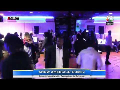 Show AMERICO GOMEZ avec l'Associazione Cattolici Senegalese del Triveneto