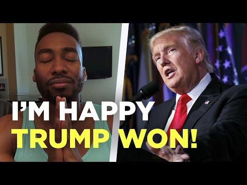 WHY IM HAPPY TRUMP WON