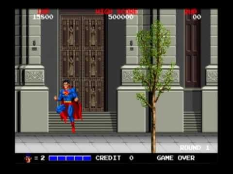 Superman - The Arcade Game Video Review