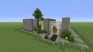 Minecraft: How to build a Modern House #3